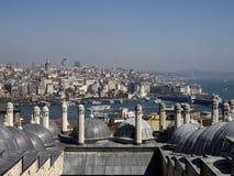 Vista a Horn dorato, Costantinopoli, Turchia Fotografie Stock