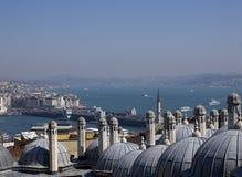 Vista a Horn dorato, Costantinopoli, Turchia Immagine Stock