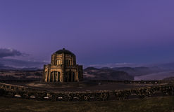 Vista House Crown Point. Is monument built in honor of first pioneers who came here to explore the area Royalty Free Stock Photos