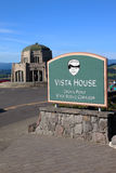 Vista house Crown point, Oregon. Royalty Free Stock Photo