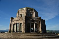 Vista House at Crown Point, Oregon. This is the historic Vista House at Crown Point on the Oregon side of the Columbia Gorge east of Portland Royalty Free Stock Photos