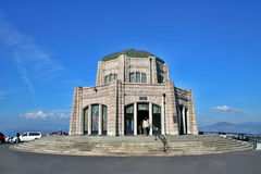 Vista House Observatory Oregon. Vista House is an observatory at Crown Point in Oregon Stock Photos
