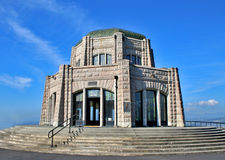 Vista House, Oregon. Vista House is an observatory and travel stop at Crown Point in Oregon Stock Photos