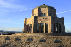 Vista House at sunset. Stock Photos