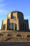 Vista House at sunset. Royalty Free Stock Photography