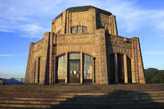 Vista House at sunset. A historical and an American landmark Vista House, Oregon state parks Royalty Free Stock Photography