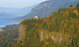 Vista house visitor center Oregon. Royalty Free Stock Photography