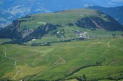Vista idílico no cume alto do moutain nas dolomites Imagem de Stock Royalty Free