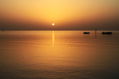 Vista idillica del Mar Rosso Immagine Stock