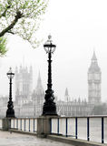 Vista idillica di Londra Fotografia Stock