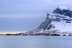 Vista II del mare dello Svalbard Immagini Stock Libere da Diritti