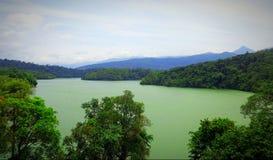 Vista impressionante da represa neyar Fotografia de Stock