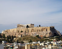 Vista incomun do Parthenon Foto de Stock Royalty Free