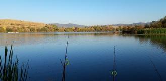Vista incrível à pesca fotografia de stock royalty free