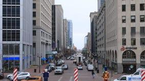Vista Indiana State Capital Building, Indianapolis 4K archivi video