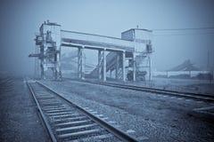 Vista industrial Fotografia de Stock Royalty Free