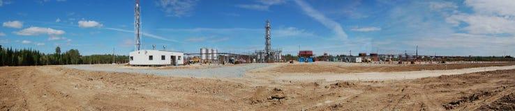 Vista industrial Fotografia de Stock