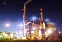 Vista industrial Imagens de Stock