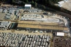 Vista-Industrial aéreo Imagenes de archivo