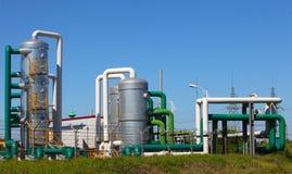 Indústria petroquímica Imagem de Stock Royalty Free