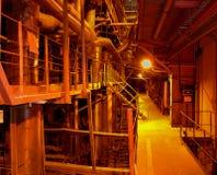 Vista industriale Fotografie Stock