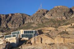 Vista inferior del edificio imagen de archivo libre de regalías