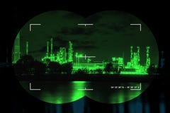 Vista infrarossa di notte Fotografie Stock Libere da Diritti