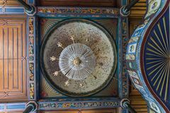 Vista interior de Artin, Macahel, Camili Camii (mezquita) Foto de archivo libre de regalías