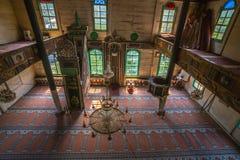 Vista interior de Artin, Macahel, Camili Camii (mezquita) Foto de archivo