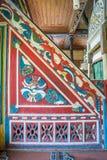 Vista interior de Artin, Macahel, Camili Camii (mezquita) Imagen de archivo libre de regalías