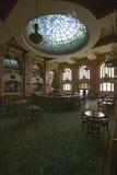 Vista interior de la barra y del salón en el hotel El Paso, El Paso, Tejas de Camino Real Fotografía de archivo
