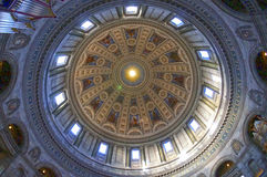 Vista interior de la iglesia de mármol (la iglesia de Federico) Fotos de archivo libres de regalías