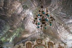 Vista interior de la iglesia ortodoxa rusa Imagen de archivo libre de regalías