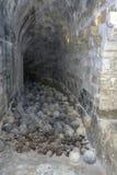 Vista interior del castello veneciano de Koules de la fortaleza una yegua imágenes de archivo libres de regalías