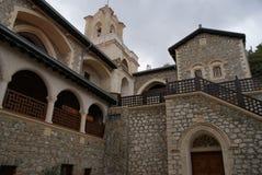 vista interior del monasterio Chipre de Kiko foto de archivo