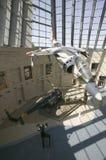 Vista interior do avião de combate Fotografia de Stock