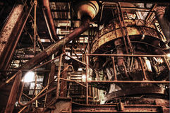 Vista interior do Carlshuette Imagem de Stock