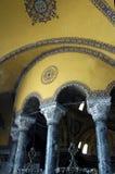Vista interior do Hagia Sophia. Fotos de Stock Royalty Free