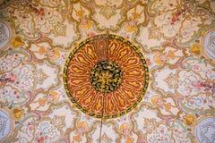 Vista interna de la bóveda en arquitectura del otomano Imagenes de archivo