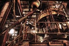 Vista interna del Carlshuette Immagine Stock