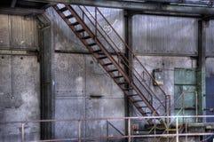 Vista interna del Carlshuette Immagini Stock