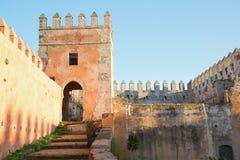 Vista interna del Kasba en Rabat, Marruecos Fotos de archivo libres de regalías