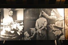 Vista interna del museo commemorativo di olocausto, in Washington DC, U.S.A. Immagini Stock