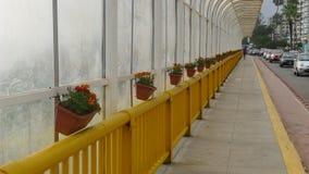 Vista interna del ponte di Villena in Miraflores fotografie stock libere da diritti