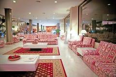 Vista interna dell'hotel di Luxus Immagini Stock