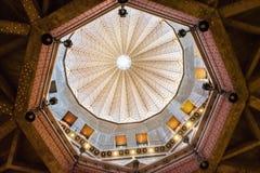 Vista interna della cupola della basilica dell'annuncio, Naz immagini stock