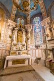 Vista interna di Almudena Cathedral - Madrid Fotografie Stock Libere da Diritti