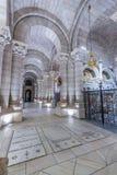 Vista interna di Almudena Cathedral - Madrid Fotografia Stock Libera da Diritti