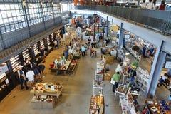 Vista interna di nuovo centro commerciale in Taiwan Fotografie Stock