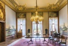 Vista interna do castelo Phillipsruhe Fotos de Stock Royalty Free
